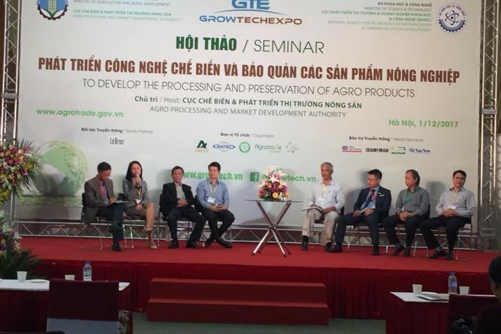 Khai mạc Triển lãm quốc tế Thiết bị công nghệ nông – lâm – ngư nghiệp tại Hà Nội